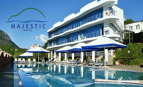 Алушта, Крым, отель Majestic