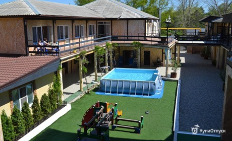 Анапа, отель «Скала»