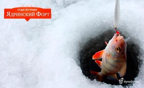 Зимняя рыбалка в Чувашии