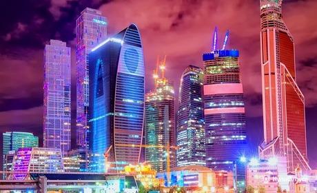 Москва, апартаменты люкс-класса в небоскребе «Москва-Сити»