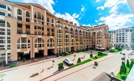 Красная Поляна, отель «Горки Город»