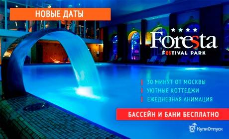 Московская область, отель Foresta Festival Park