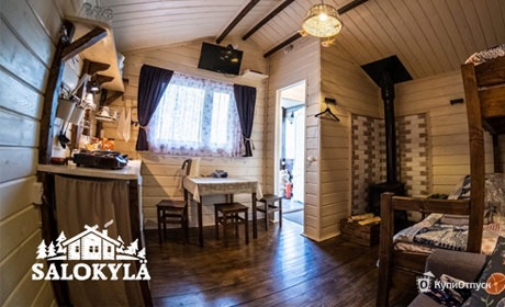 Карелия, база отдыха «Хутор Салокюля»