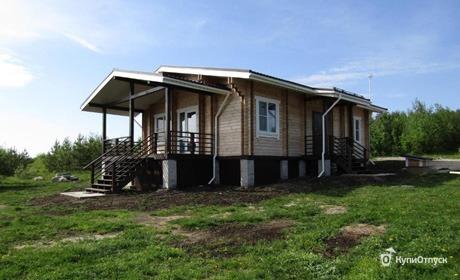 Карелия, дом для отпуска «Маслозеро»