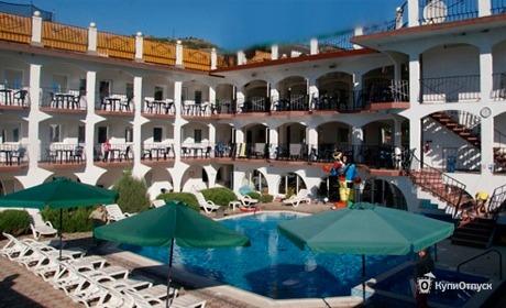 До 10 дней в отеле «Крым Енот»
