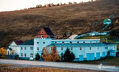 Алтай, гостиница «Гора Веселая»