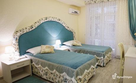Анапа, пос. Витязево, отель «Французский квартал»