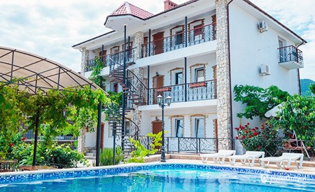 Гостиница «Коктебель», Крым