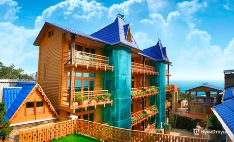 Ялта, мини-отель «Княжий град»